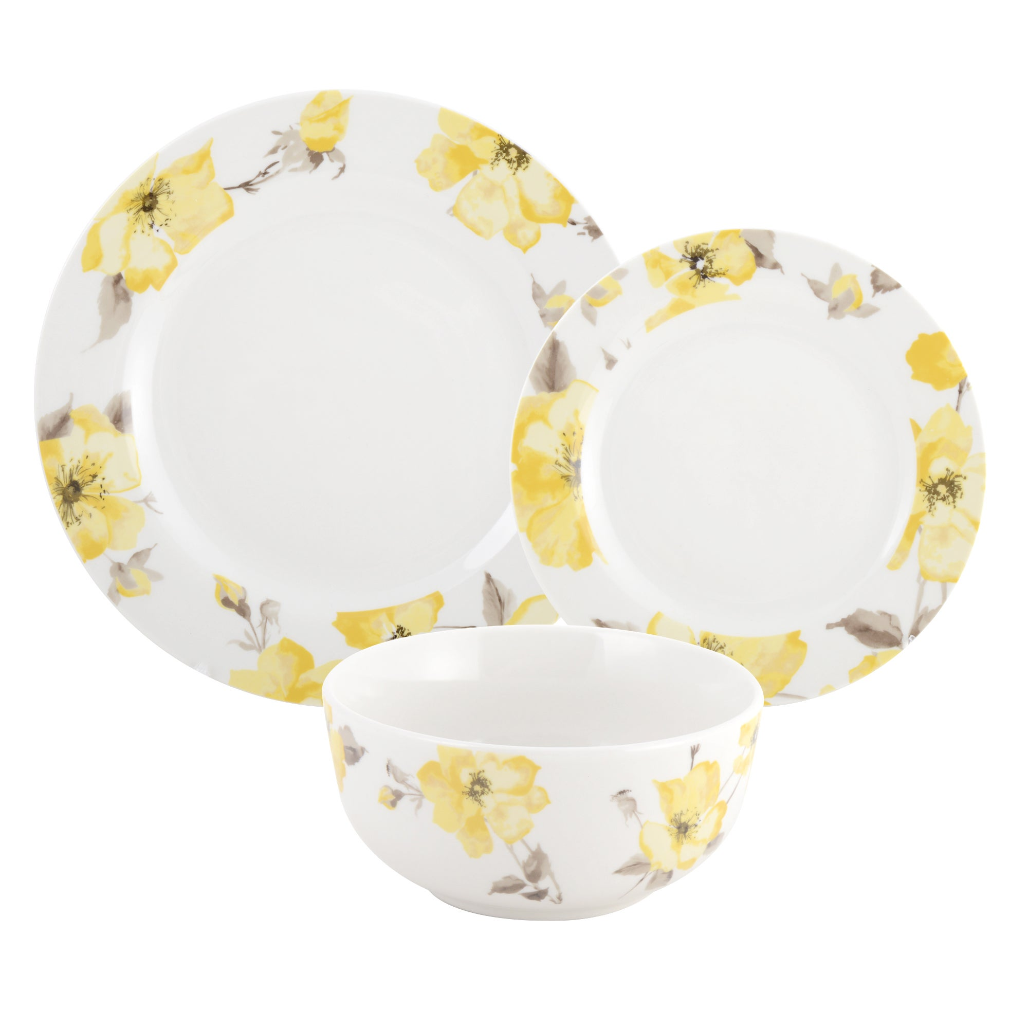 Meadow Blossom Collection 12 Piece  Dinnerset