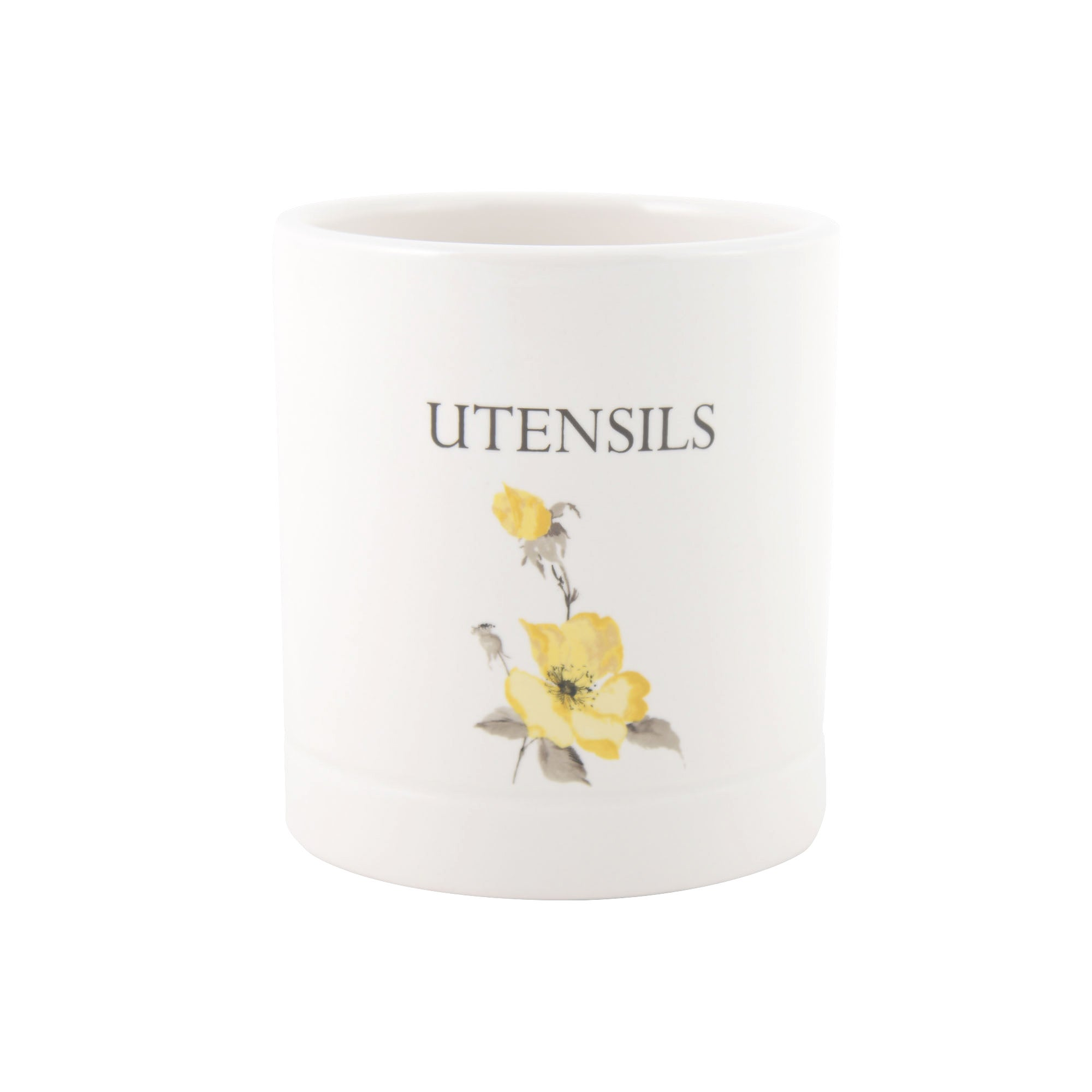 Meadow Blossom Collection Utensil Jar