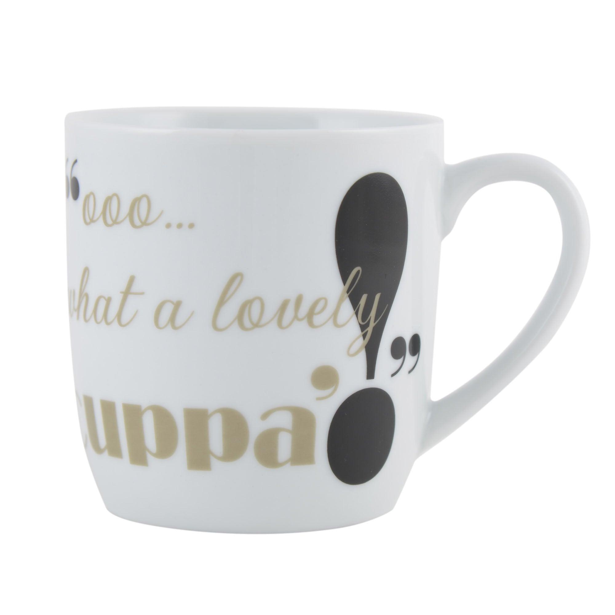 What A Lovely Cuppa Barrel Mug