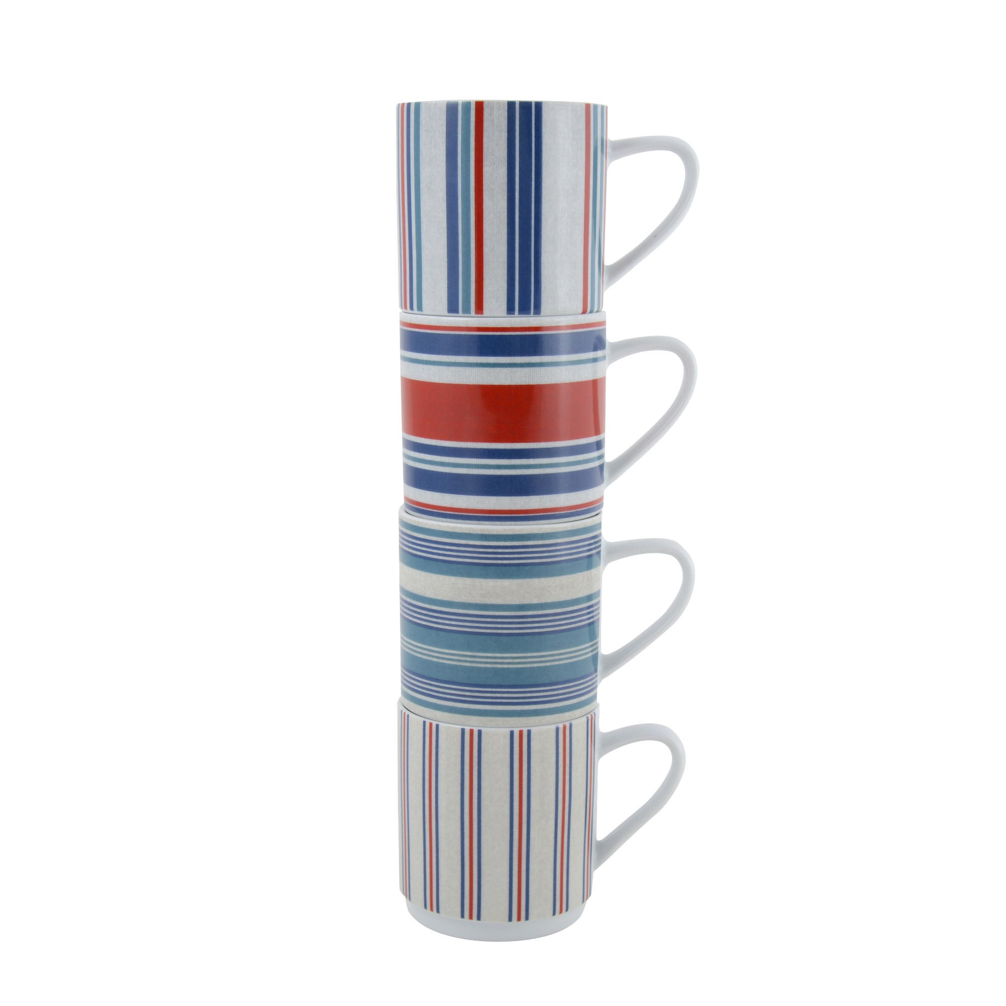 Hamptons Stackable Mugs