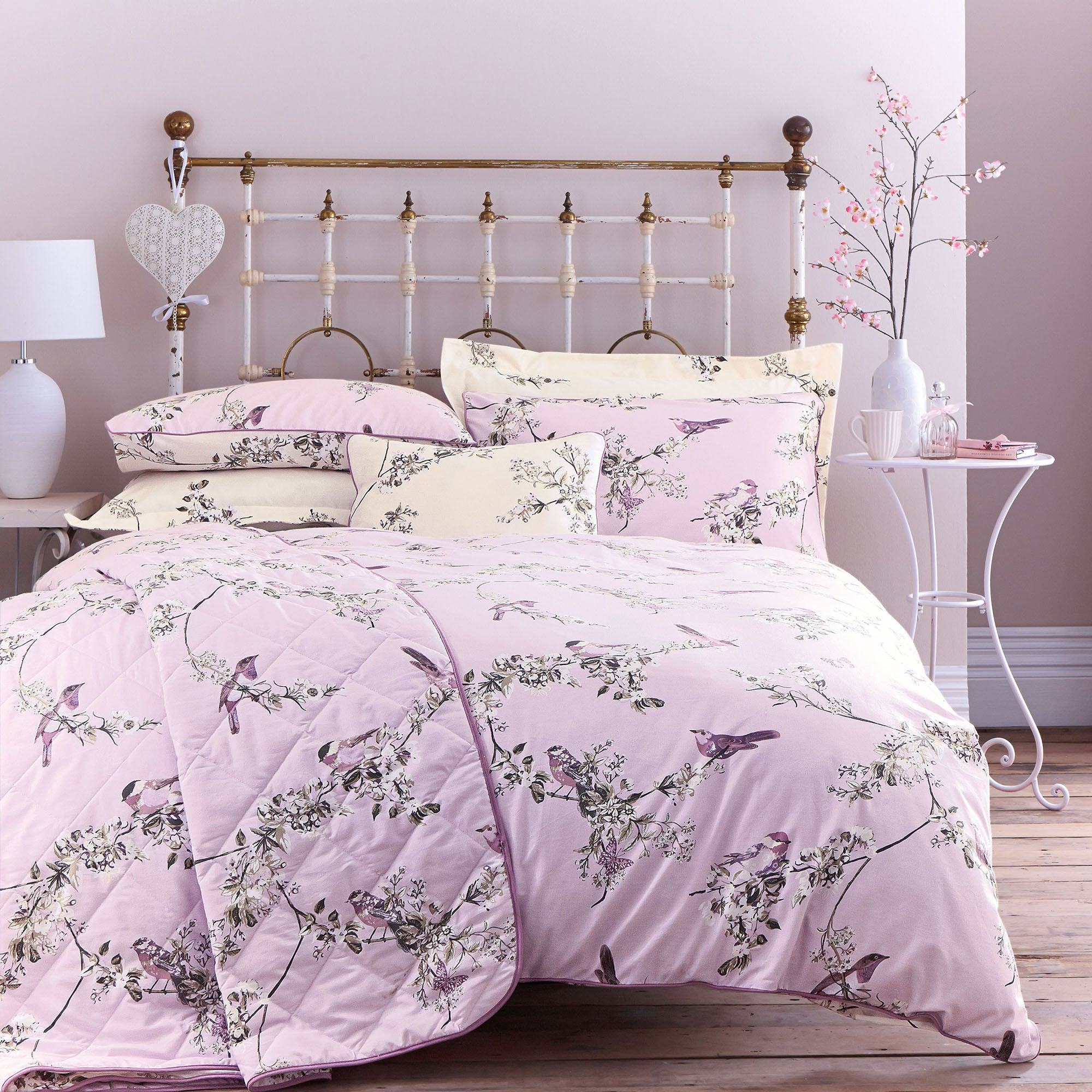 heather beautiful birds collection duvet cover dunelm. Black Bedroom Furniture Sets. Home Design Ideas