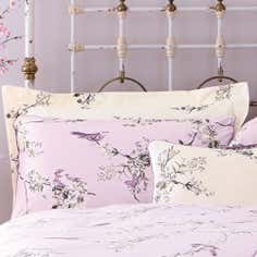 Heather Beautiful Birds Collection Oxford Pillowcase
