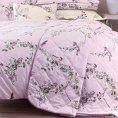 Heather Beautiful Birds Collection Bedspread