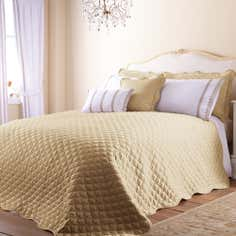 Gold Ciara Collection Bedspread