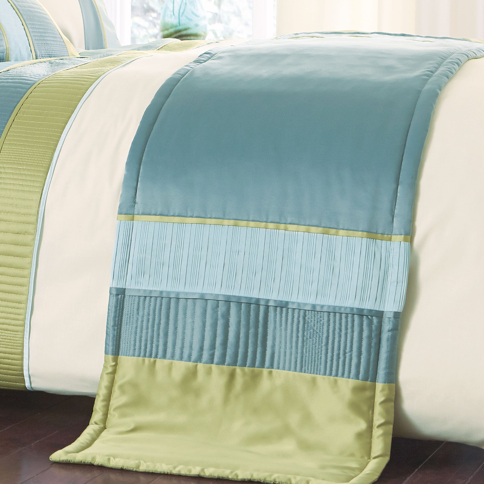 Teal Clermont Collection Runner