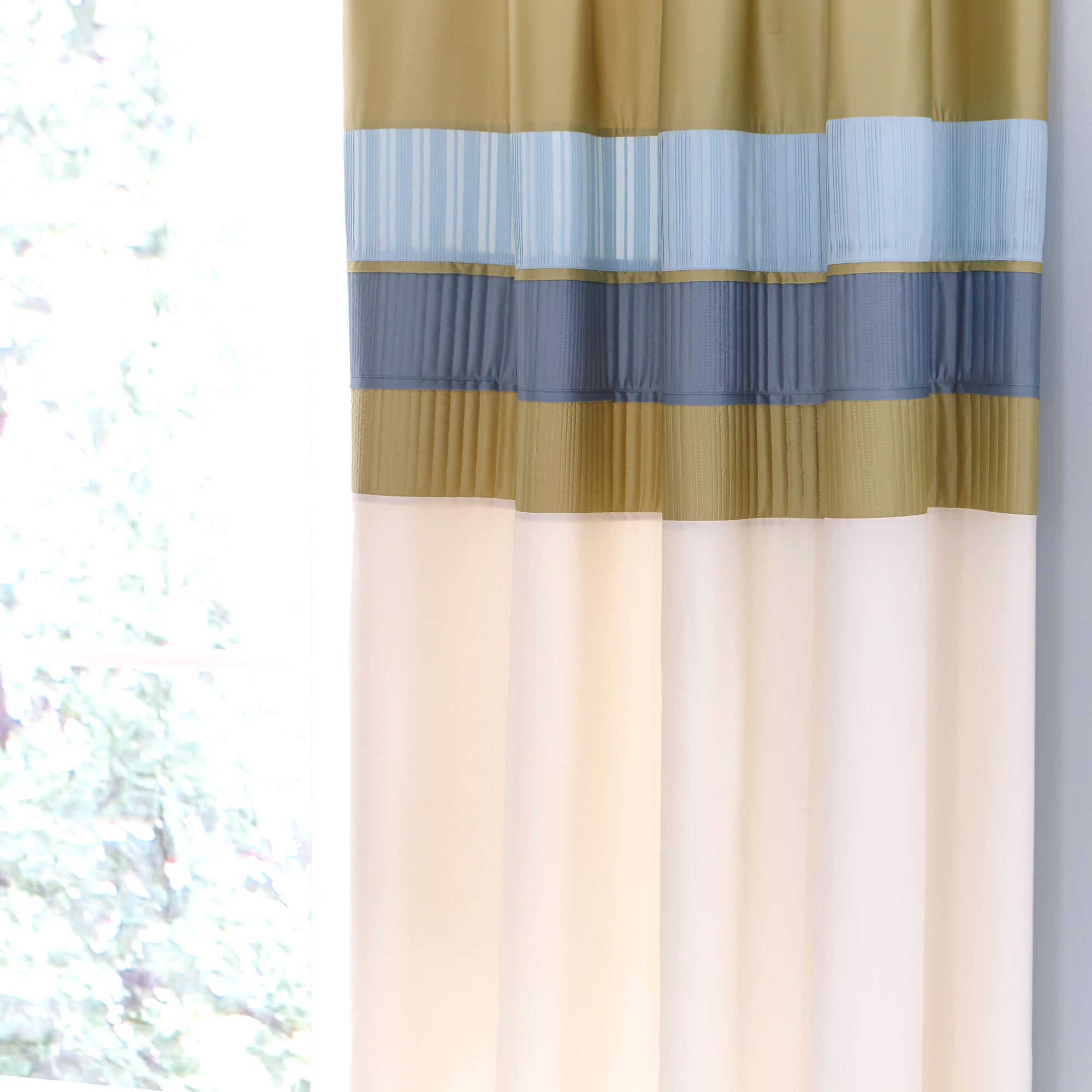 Teal Clermont Thermal Pencil Pleat Curtains