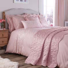 Dusky Pink Florentine Collection Duvet Cover