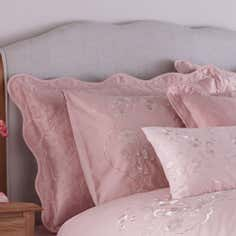 Dusky Pink Florentine Collection Pillow Sham