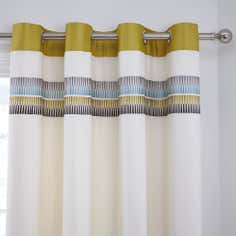 Green Montreal Thermal Eyelet Curtains