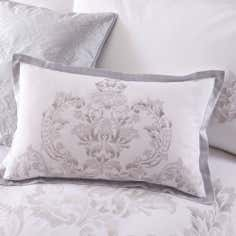 Silver Nina Collection Boudoir Cushion