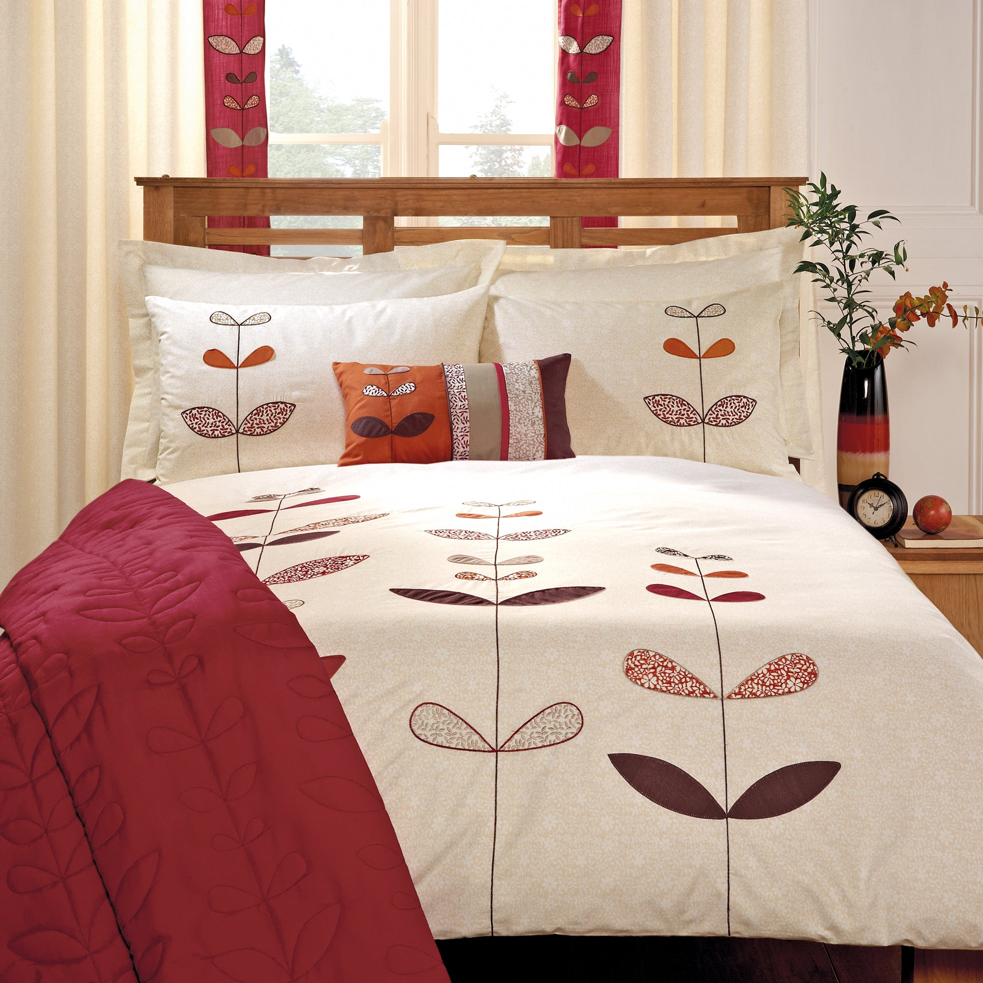 Terracotta Naya Spice Collection Duvet Cover