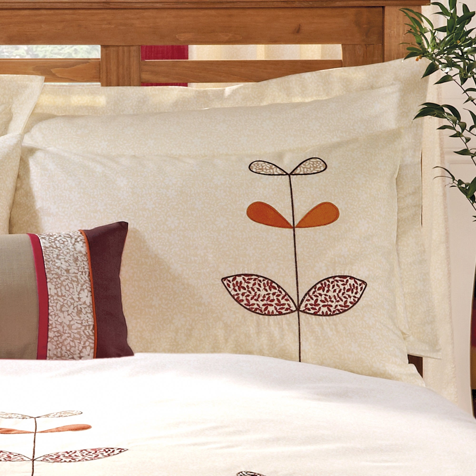 Terracotta Naya Spice Collection Housewife Pillowcase