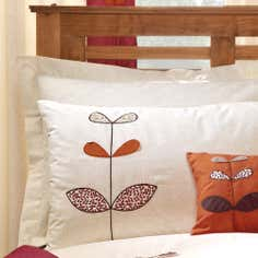 Terracotta Naya Spice Collection Oxford Pillowcase
