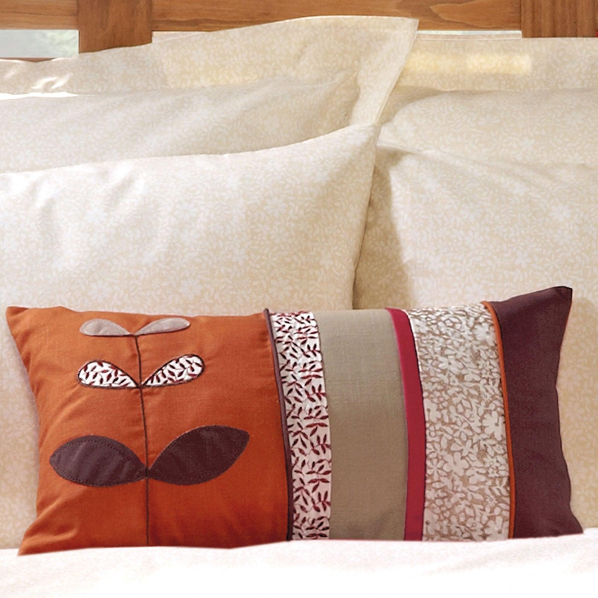 Terracotta Naya Spice Collection Boudoir Cushion