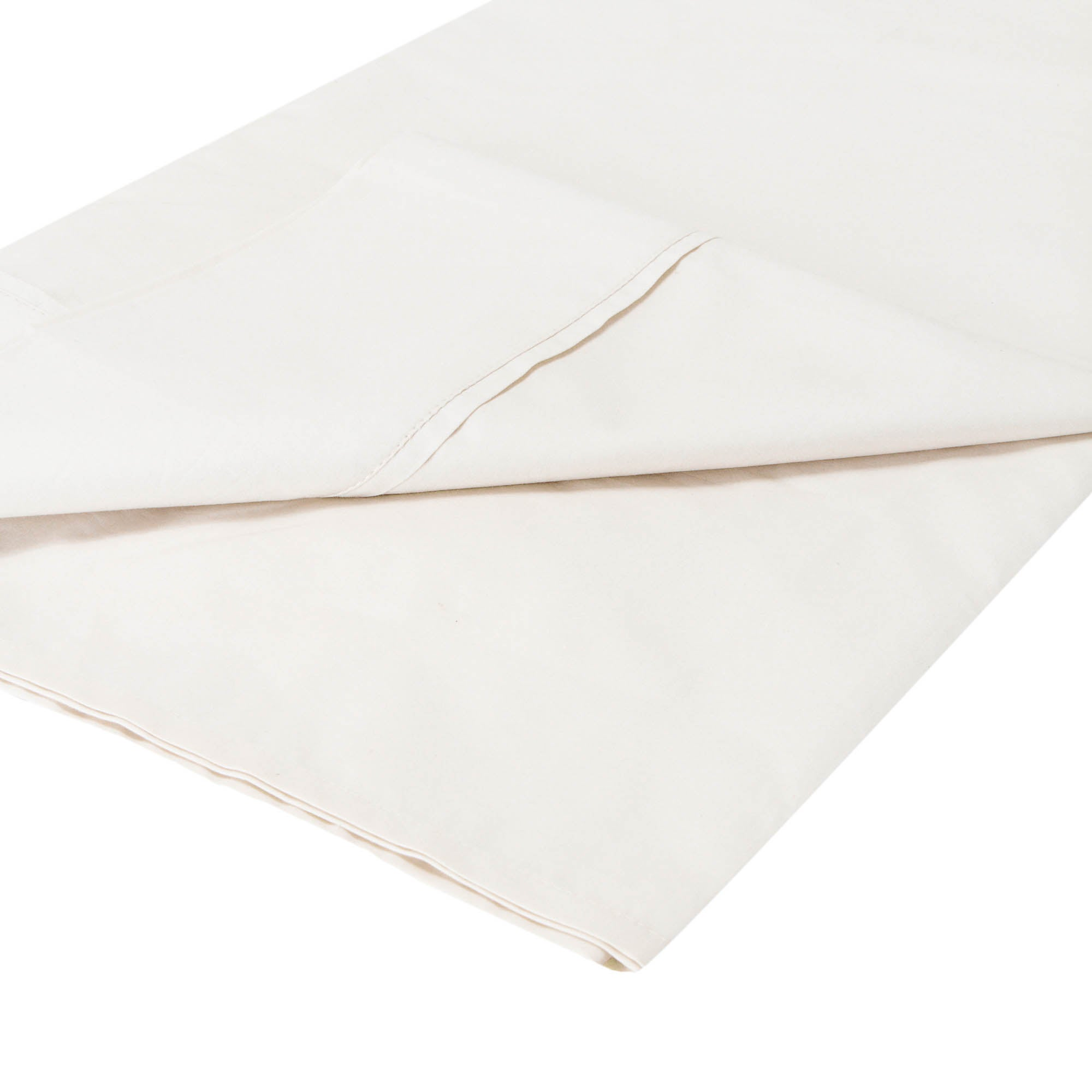 Dorma 300 Thread Count Plain Dye Collection Flat Sheet
