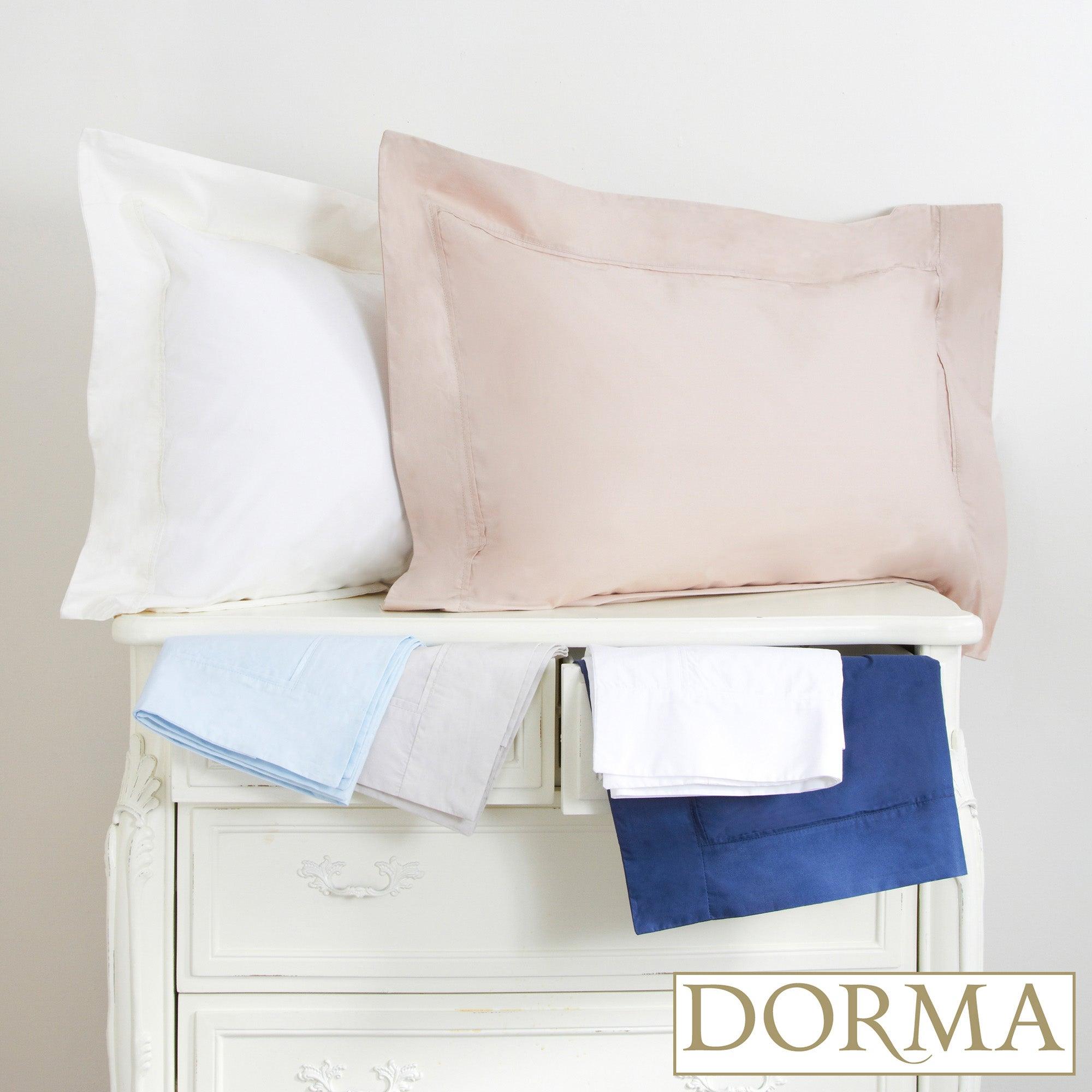 Dorma 300 Thread Count Plain Dye Collection Oxford Pillowcase