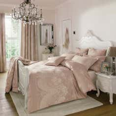 Dorma Pink Lucille Collection Duvet Cover
