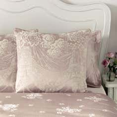 Dorma Pink Lucille Collection Continental Pillowcase