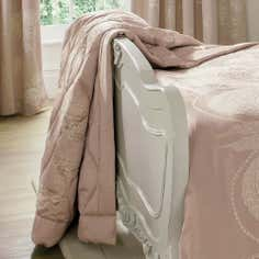 Dorma Pink Lucille Collection Bedspread