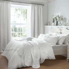 Dorma White Provence Collection Duvet Cover