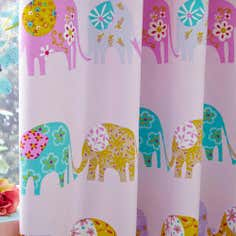 Kids Nelle Blackout Pencil Pleat Curtains