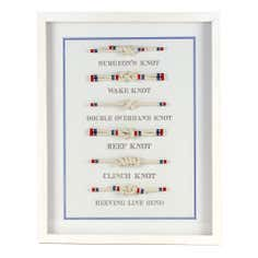 The Hamptons Collection Knot Filled Frame