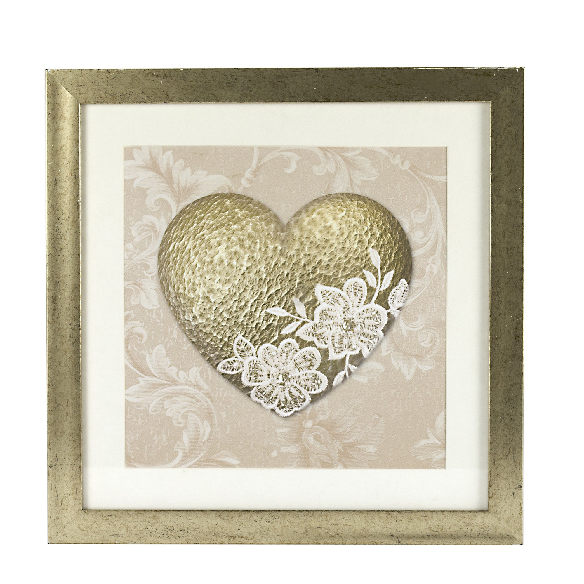 Golden Blush Framed Print
