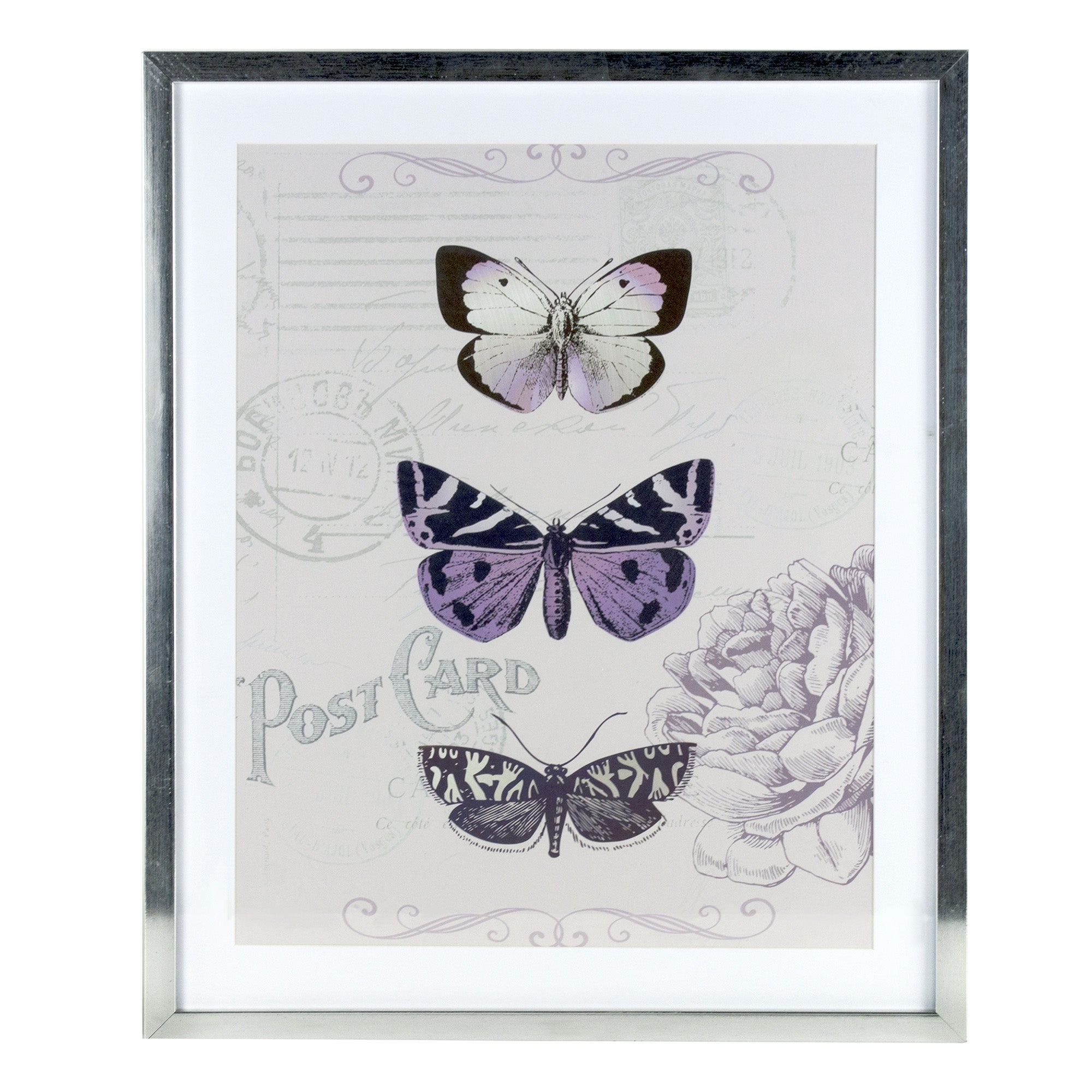 Maison Chique Butterfly Framed Print