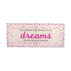 Pink Dreams Printed Canvas