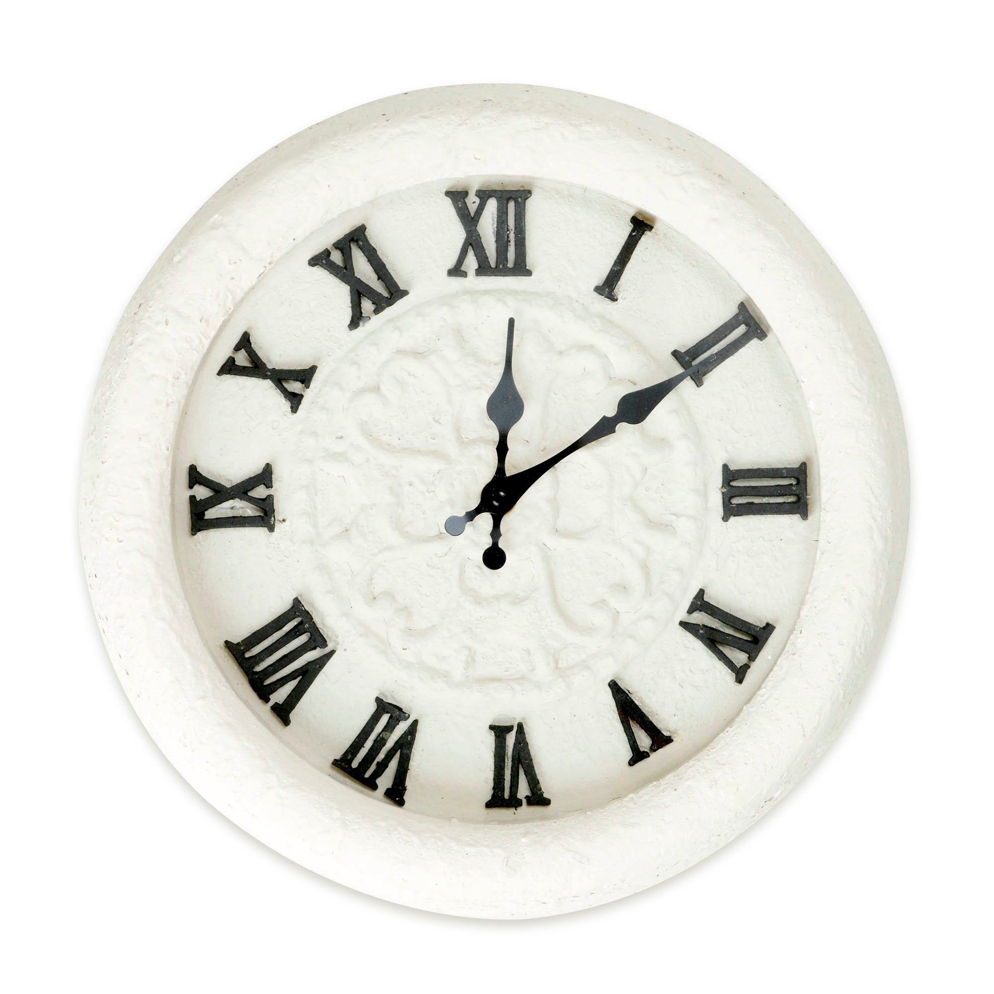 Chalk Cottage Collection Metal Clock