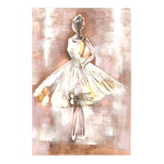 Ballerina Hand Painted Canvas
