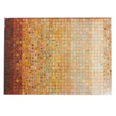 Gloss Mosaic Printed Canvas