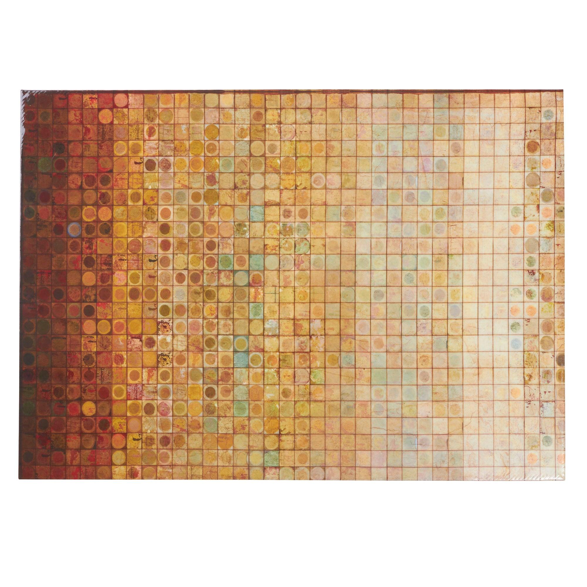 Gloss Mosaic Printed Canvas