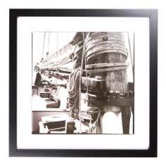 Boat Rope Framed Print