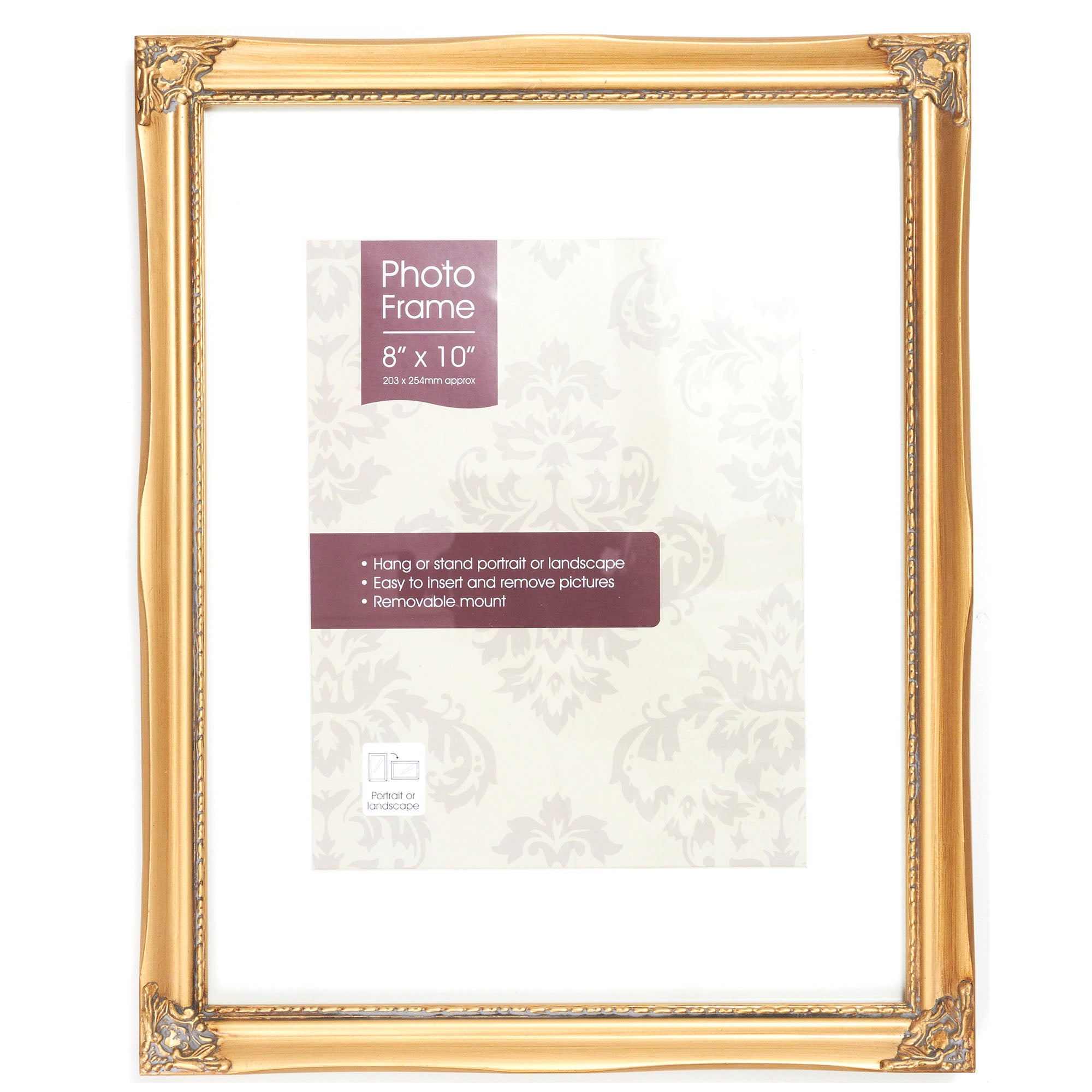 Gold Vintage Photo Frame