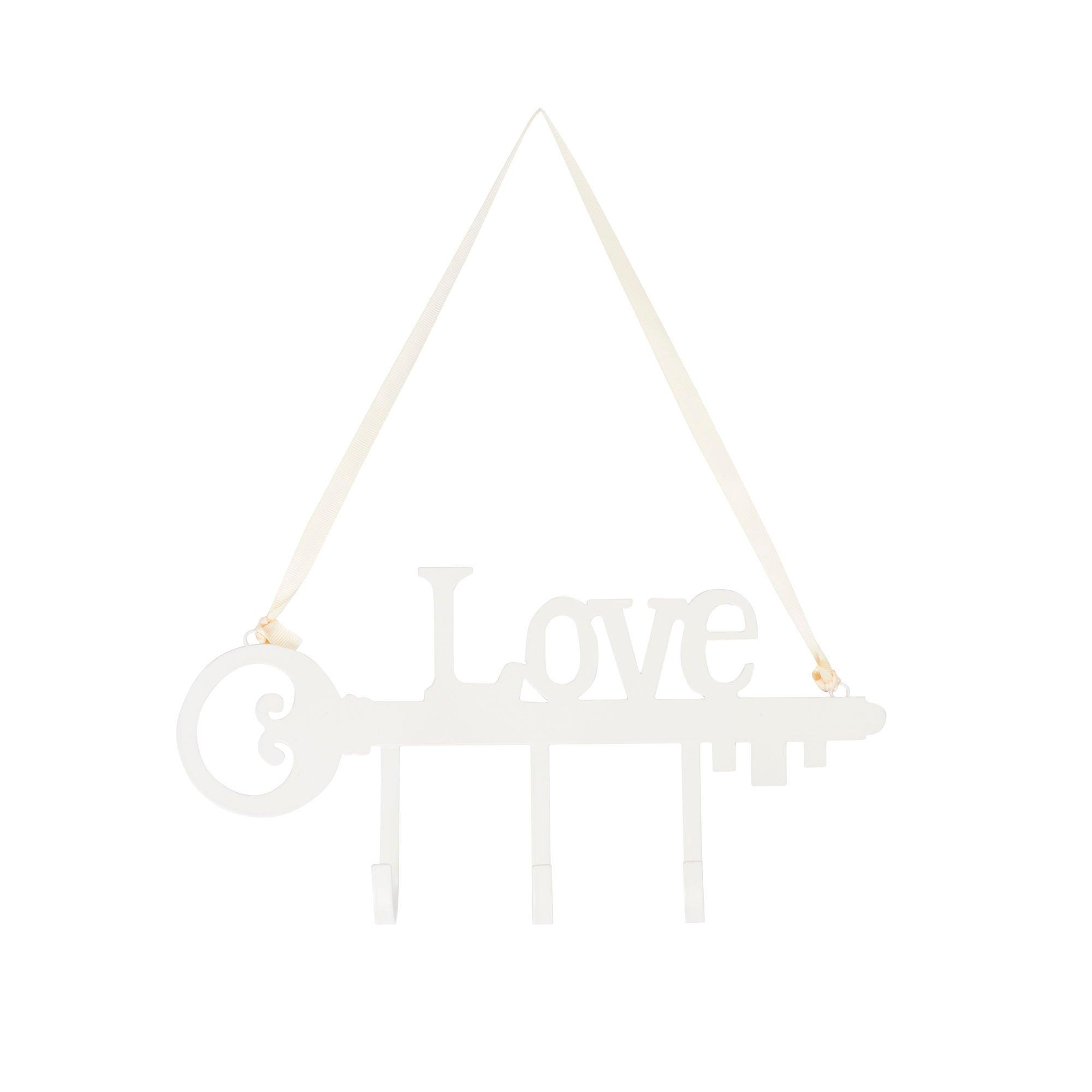 Love Metal Hanging Hook