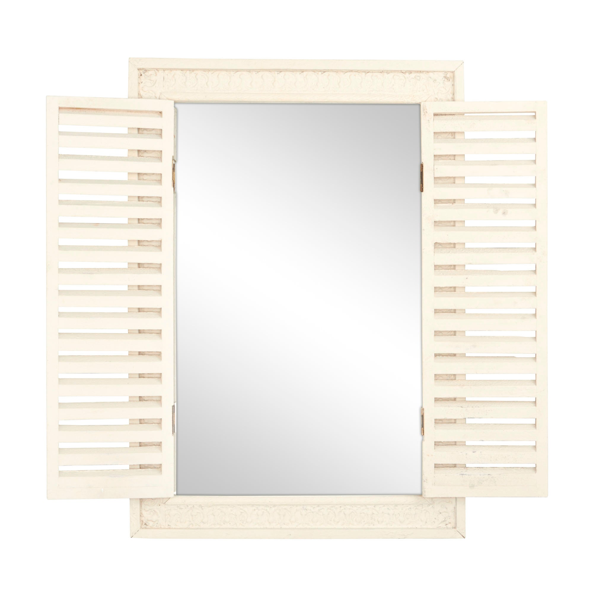Chalk Cottage Collection Shutter Mirror