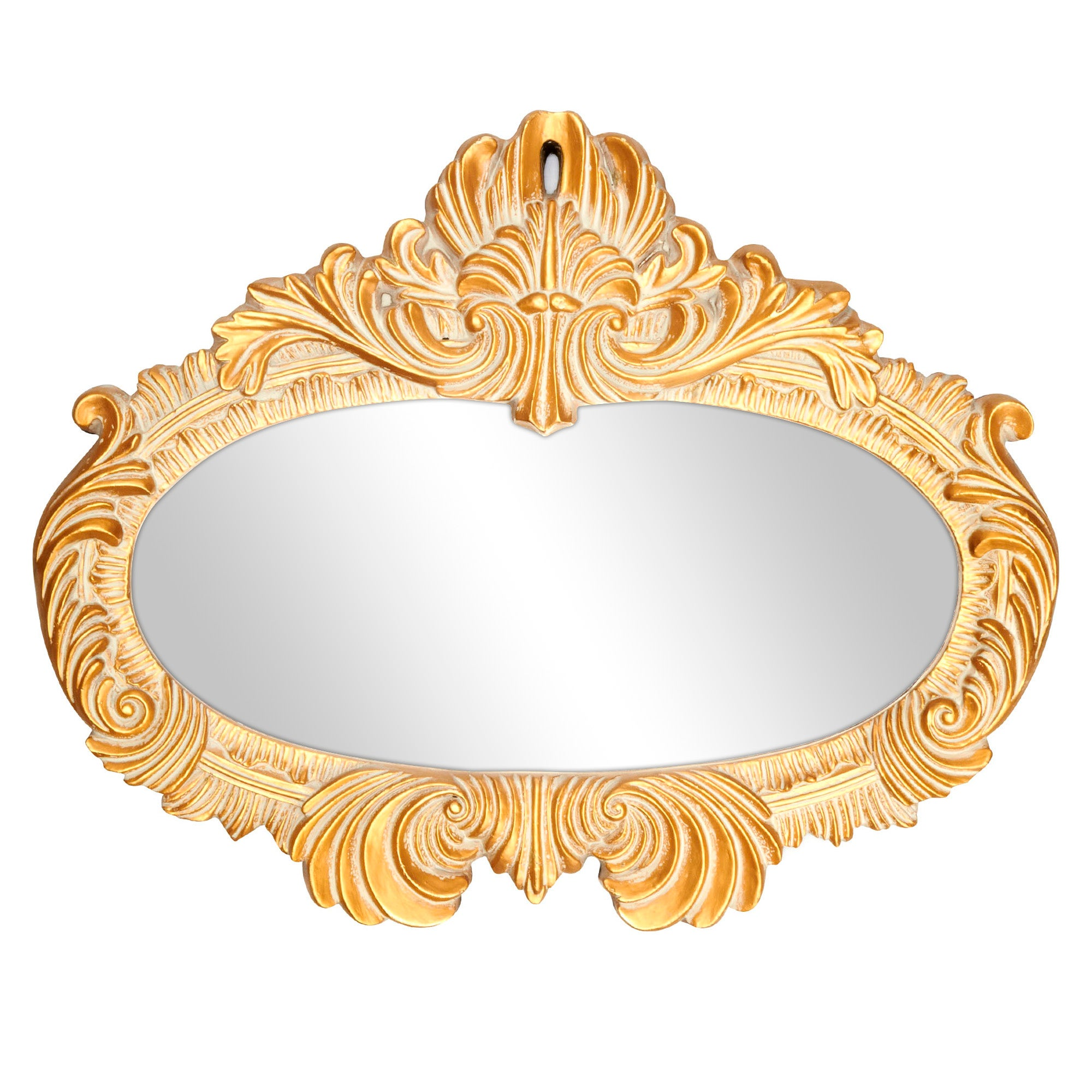 Gold Ornate Wall Mirror
