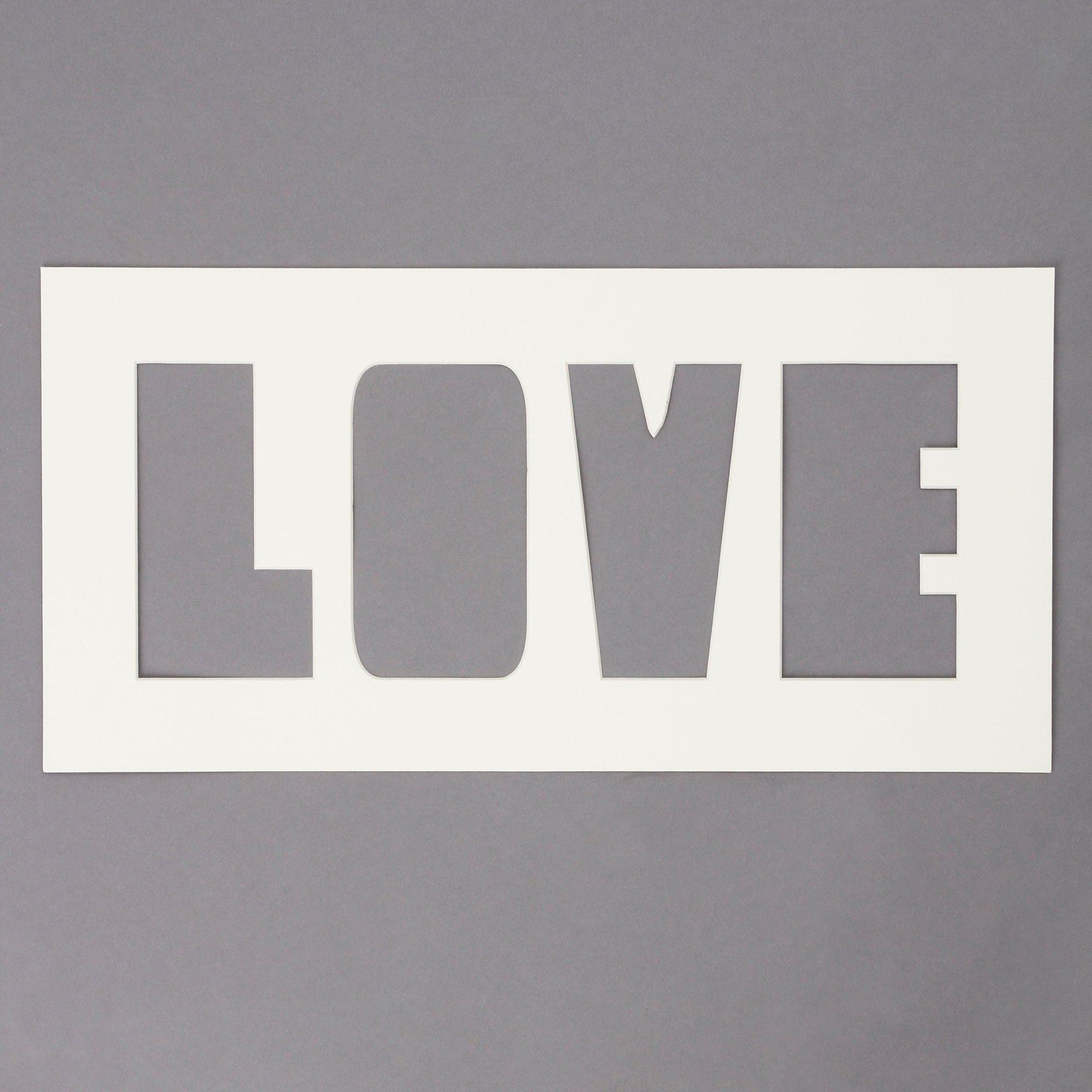 Love Photo Mount