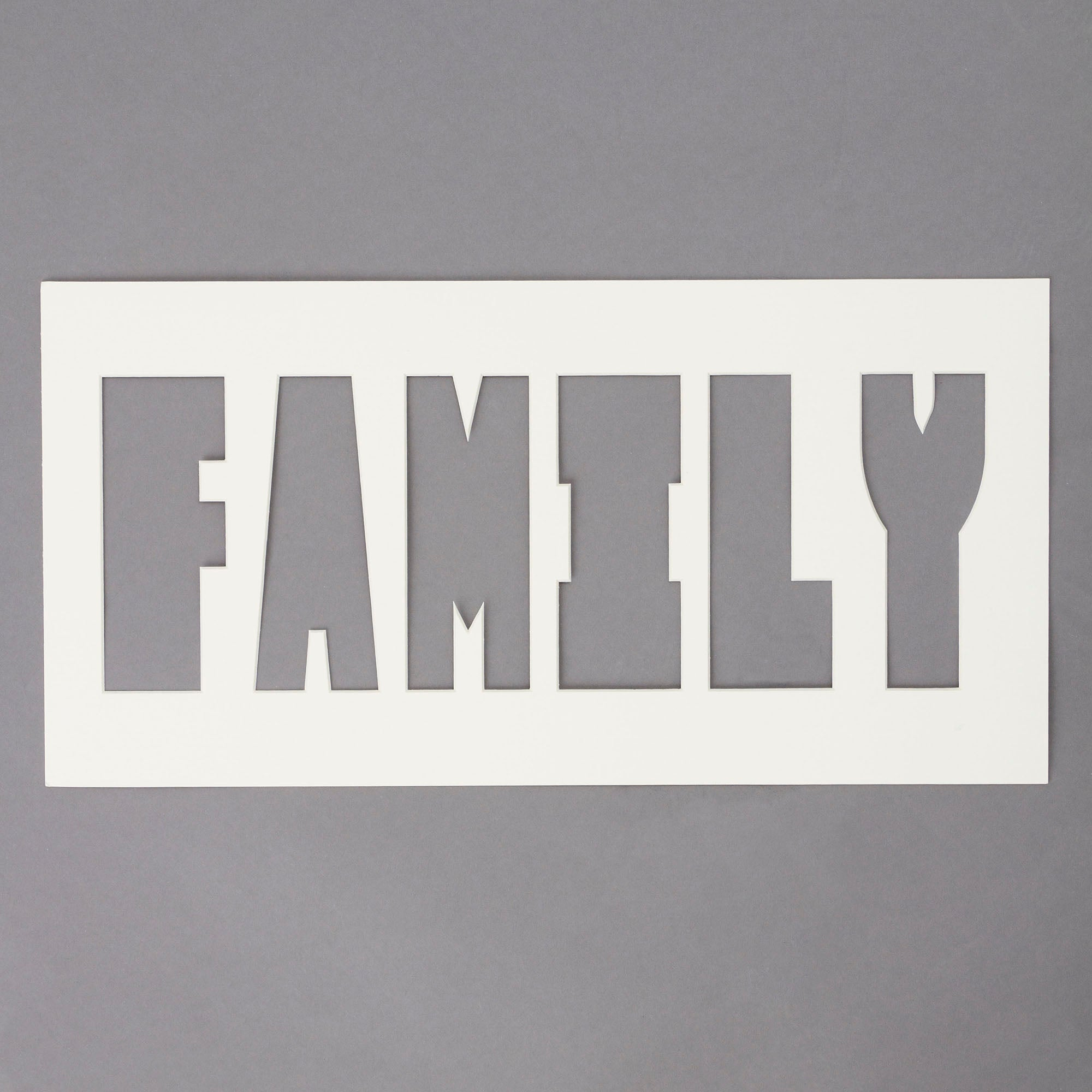 Family Photo Mount