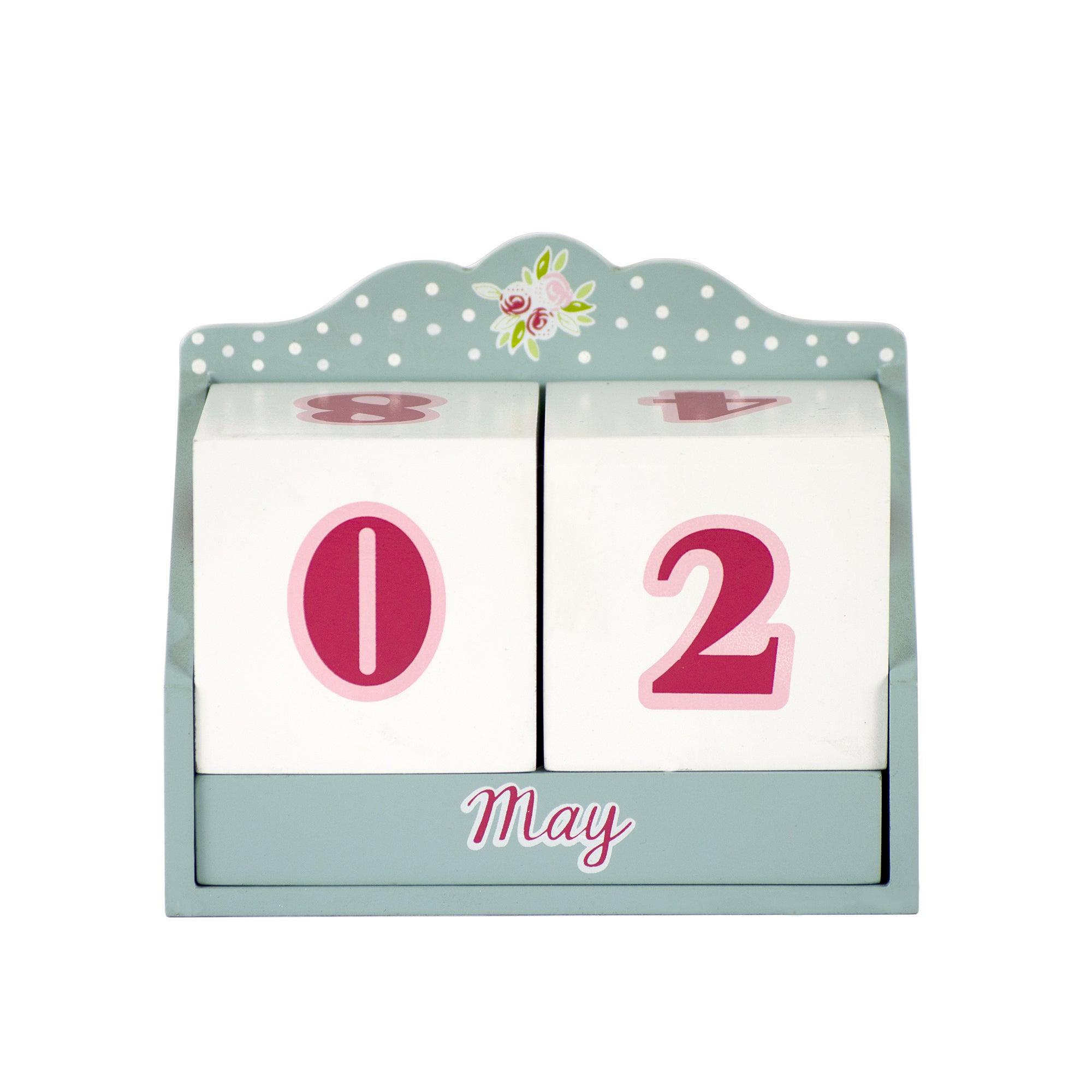 Candy Rose Collection Perpetual Calendar