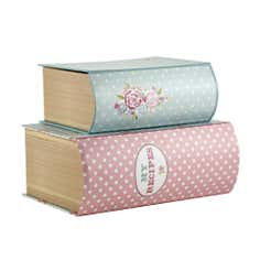 Candy Rose Collection Printed Storage Boxes