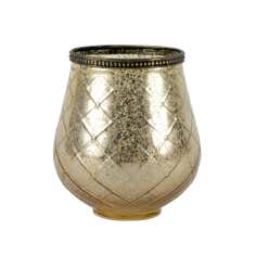 Golden Blush Collection Glass Tea Light Holder