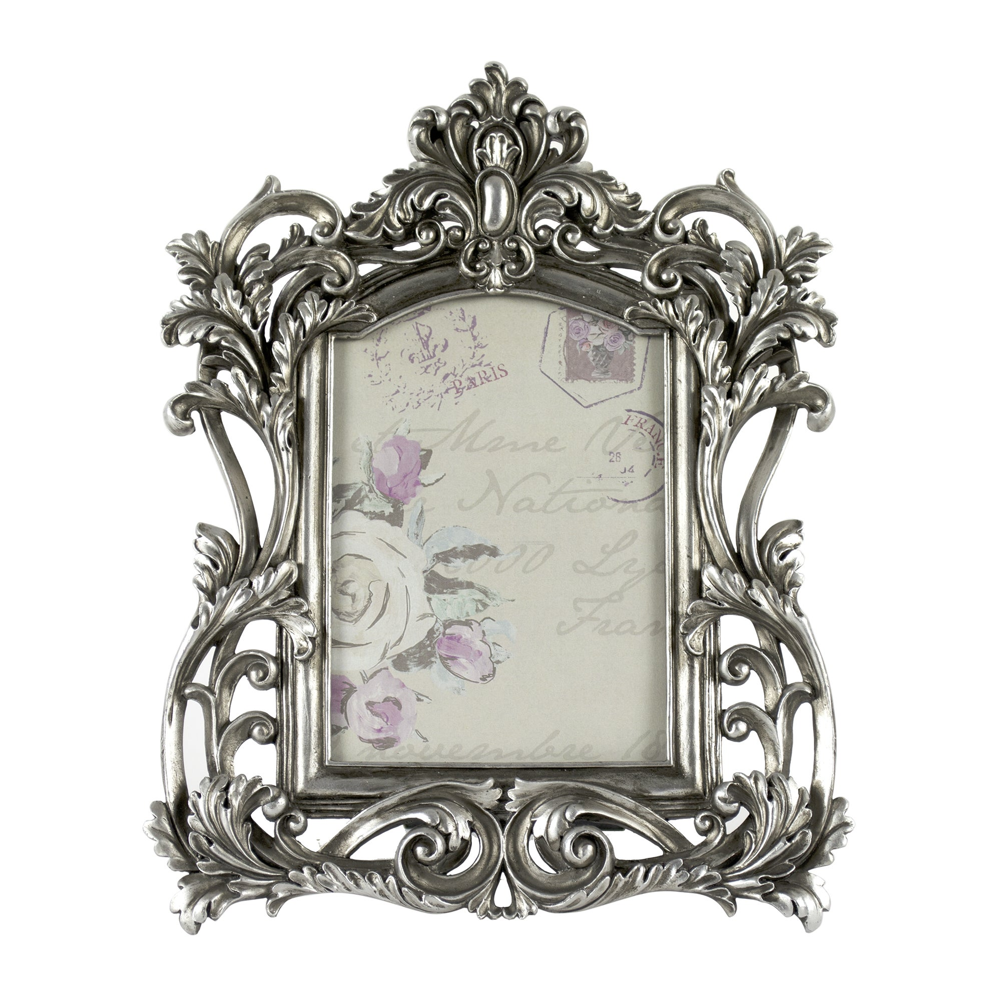 Maison Chique Collection Silver Ornate Frame