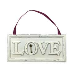 Maison Chique Collection Love Hanging Plaque