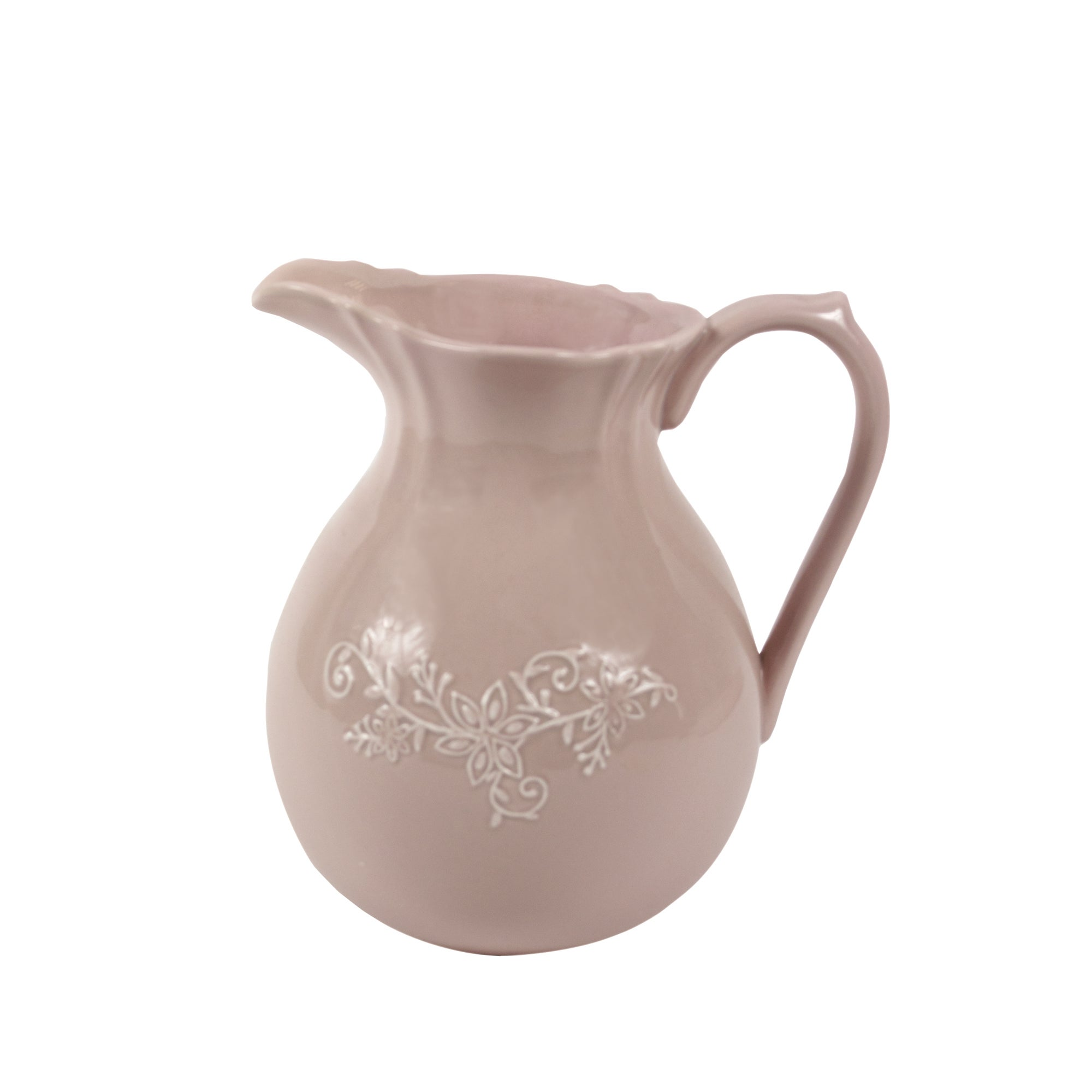 Maison Chique Collection Embossed Pink Jug