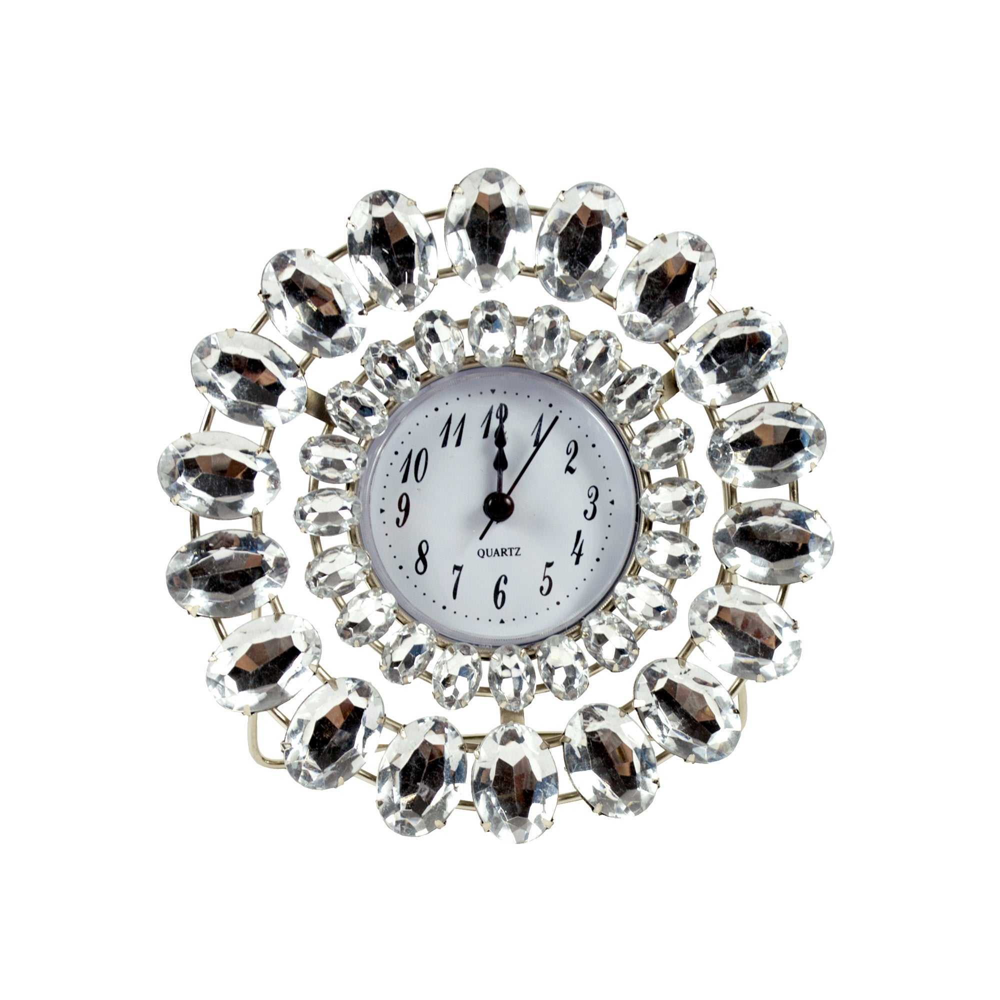 Sparkle Collection Jewelled Clock