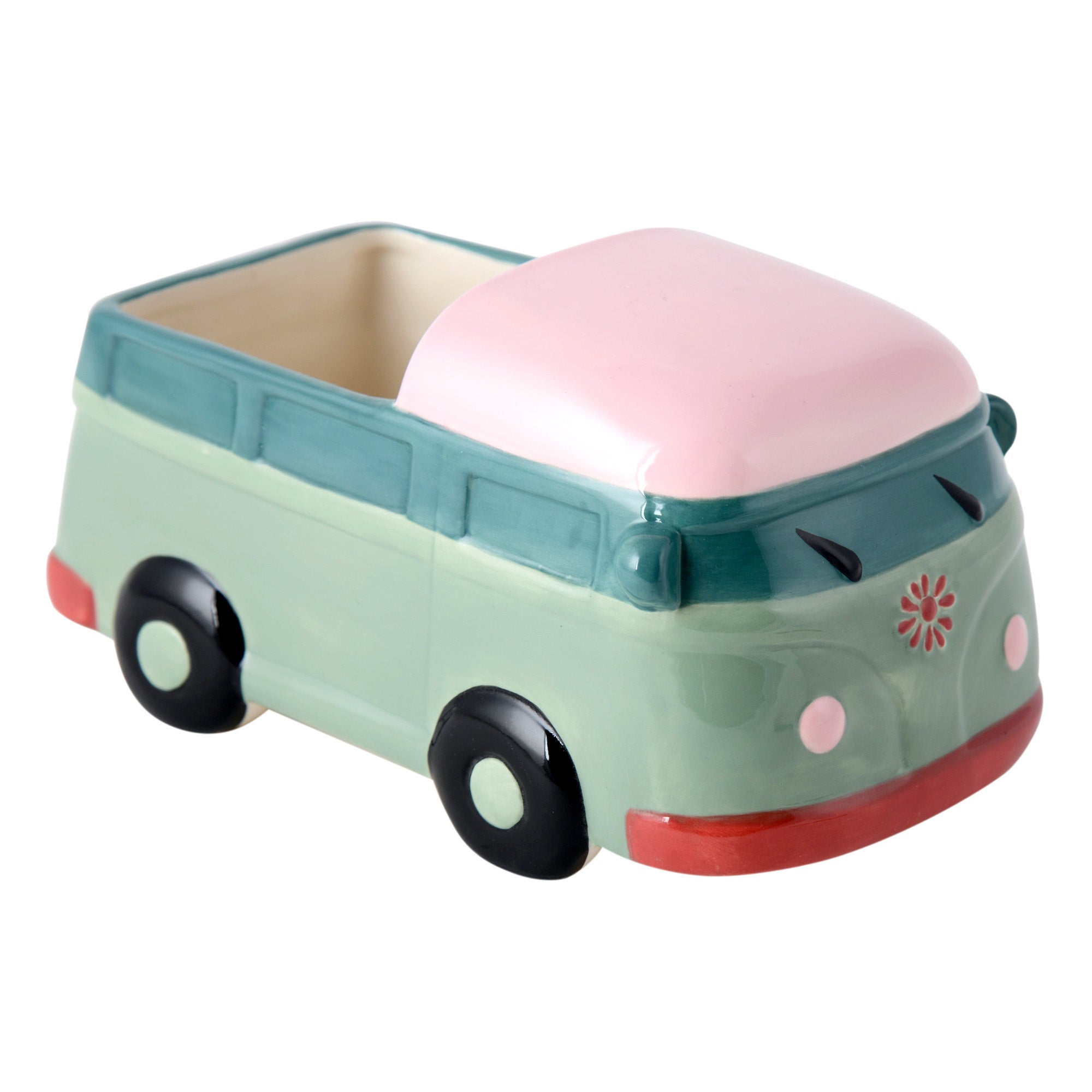 Candy Rose Collection Campervan Planter