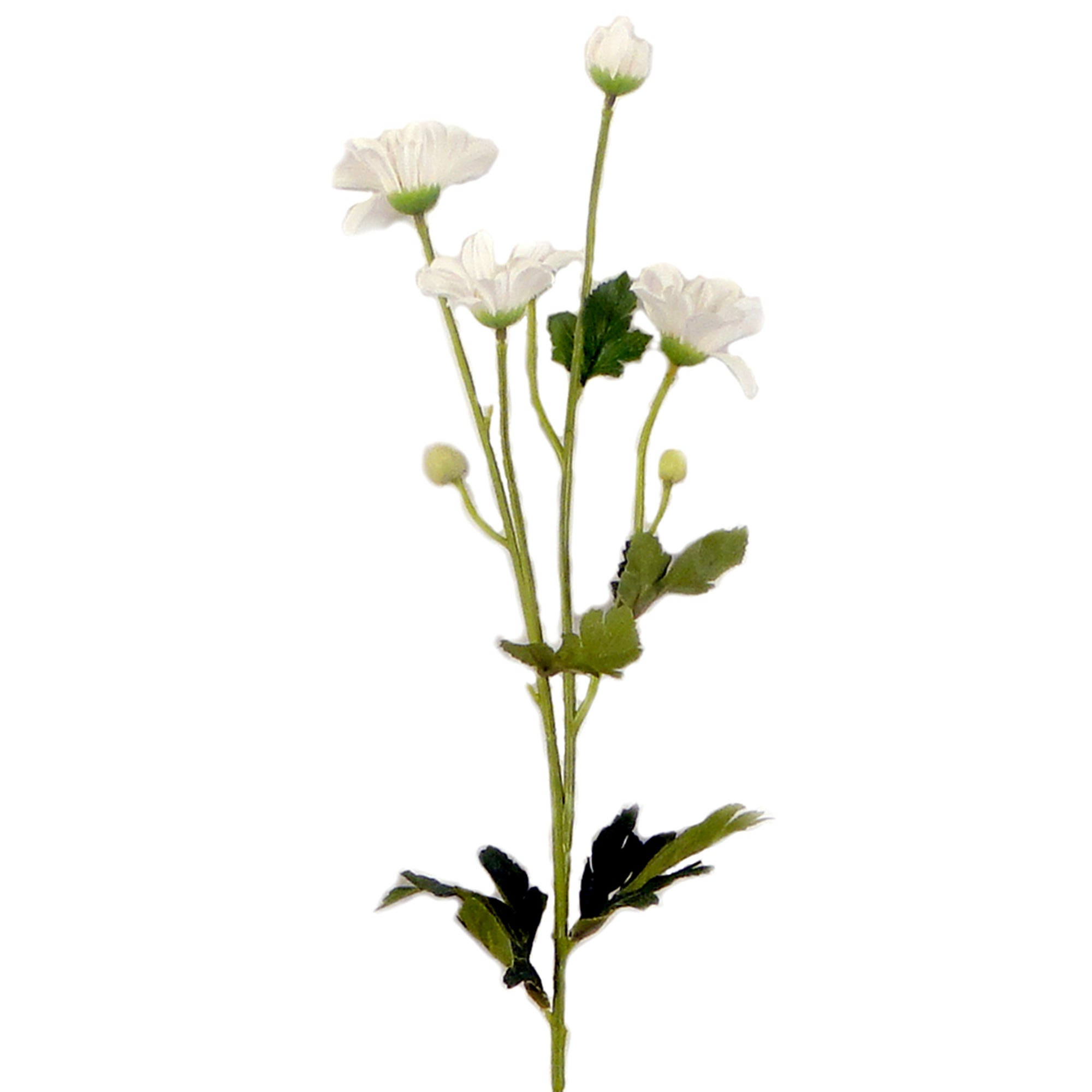 Artificial White Wild Daisy Spray