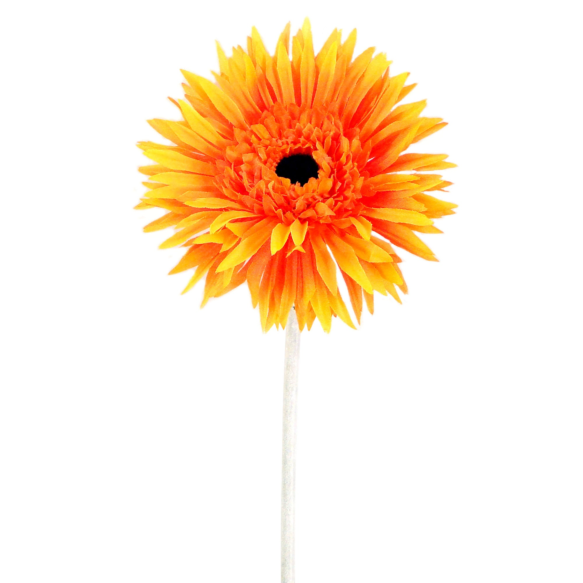 Artificial Orange Spider Gerbera Flower Stem